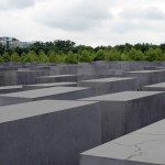 The controversial Memorial to the Murdered Jews of Europe. Photo by Bogdan Mohora.