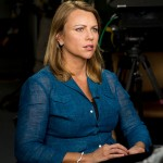 "Lara Logan with CBS's ""60 Minutes"" March 18, 2013.  Photo by Spc. Steven Young."