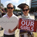 Actress Anne Hathaway and her husband, Adam Shulman, joined a protest sponsored by Bring Back Our Girls in Los Angeles on May 8th.  This kind of celebrity involvement and the far-reaching influence of the #BringBackOurGirls social media campaign prompted the press to give the Chibok kidnapping more attention than they initially had.