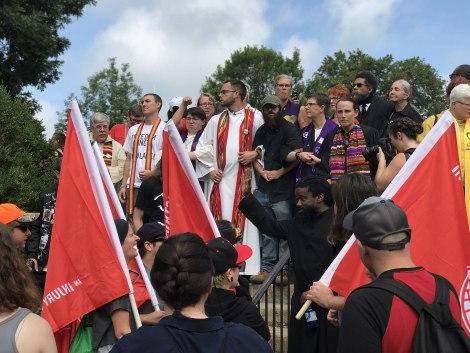 FASPE Seminary Fellow Eric Martin Takes Nonviolent Action in Charlottesville