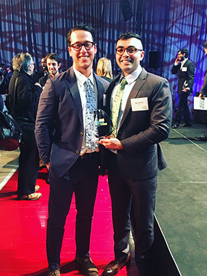 Medical Fellow Abraar Karan Wins Dubilier Grand Prize at the HBS New Venture Competition