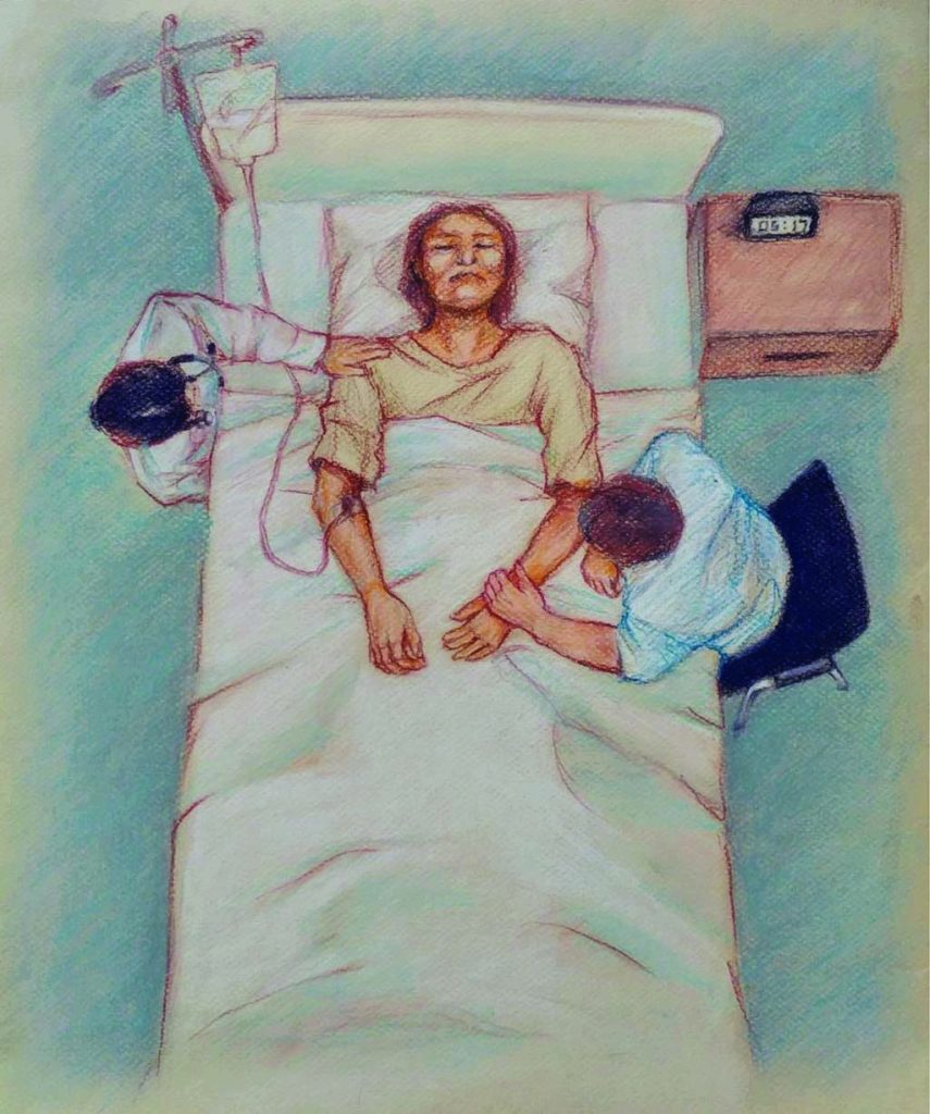 A Physician Uses Art to Express Ethical Dilemmas